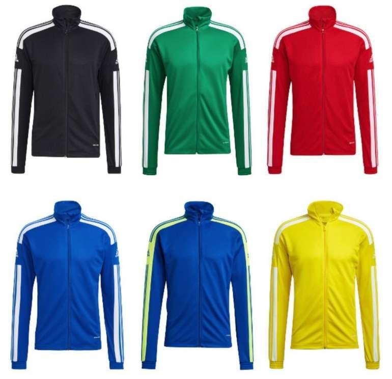 Adidas Trainingsjacke Squadra 21 in 6 verschiedenen Farben für 22,95€ inkl. Versand (statt 26€)