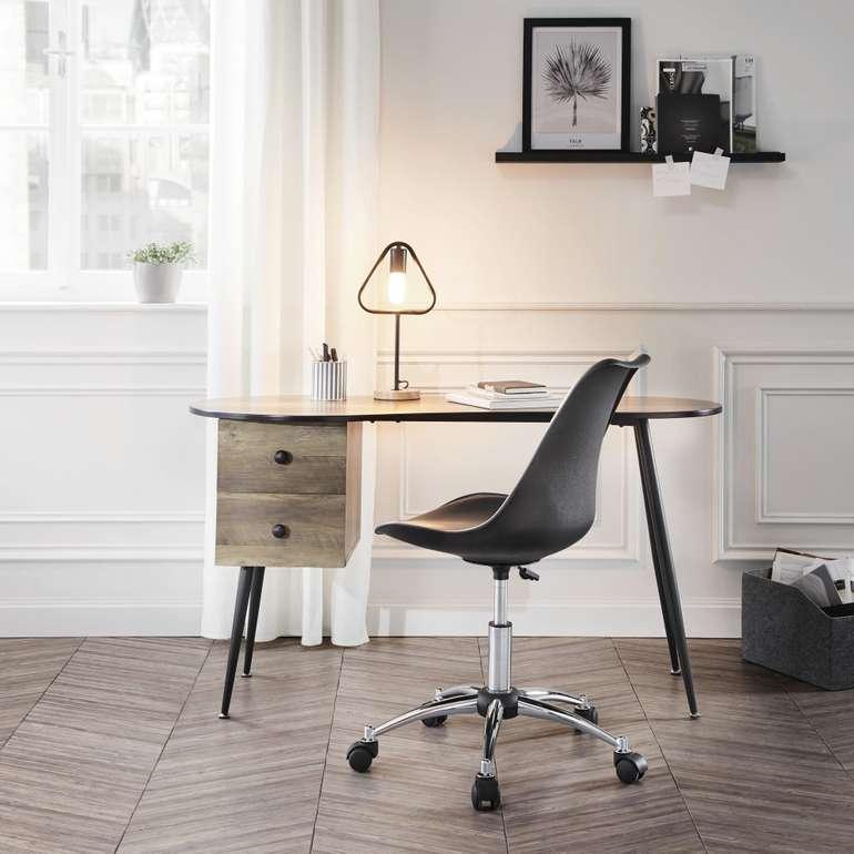 Top! Bessagi Home Schreibtisch Kara in Grau für 37,81€ inkl. Versand
