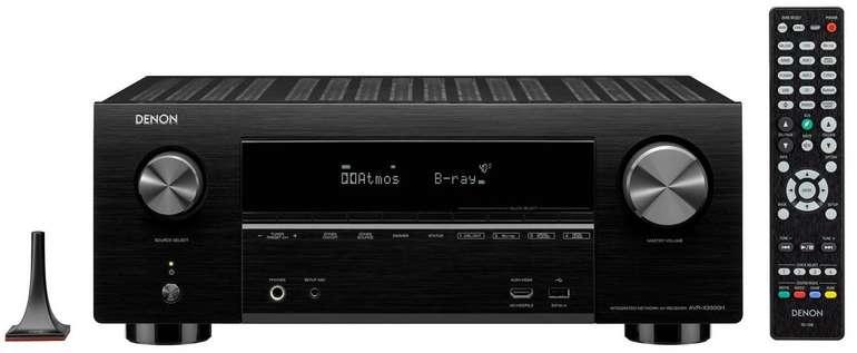 Denon AVRX3500HBKE2 7.2 Surround AV-Receiver Schwarz für 579,90€ (statt 599€)