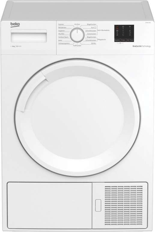 Beko DS 8511 PAV Wärmepumpentrockner (8 kg, EEK: A+++) für 377,91€ inkl. Versand (statt 462€)