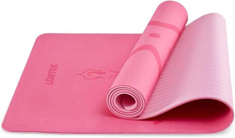 Umay Lontek rutschfeste Gymnastikmatte in 5 Farben für je 19,79€ inkl. Versand (statt 27€)