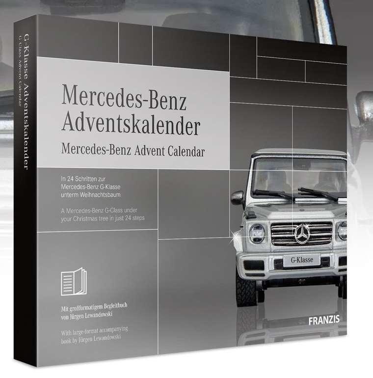 Mercedes-Benz Adventskalender (G-Klasse Bausatz 2019) für 39,95€ inkl. Versand (statt 53€)