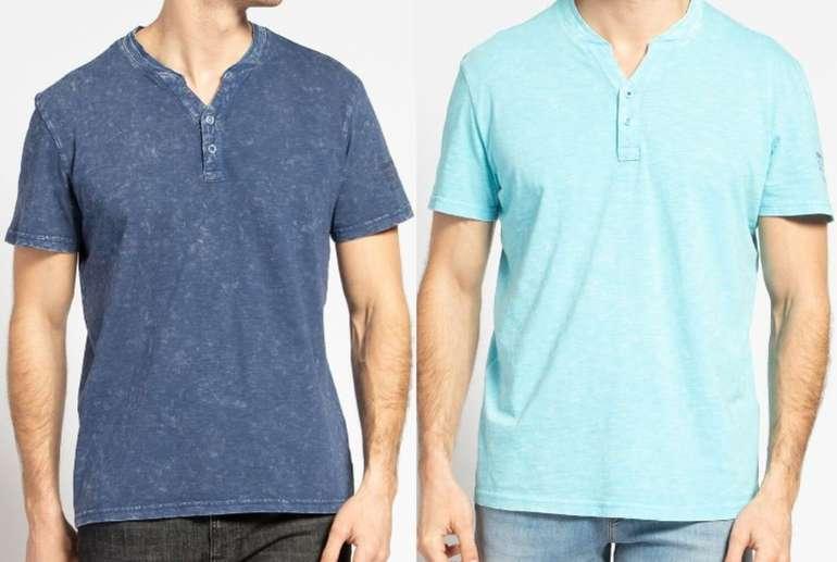 Tom Tailor Casual Washed Henley T-Shirt in versch. Farben ab 10,76€ inkl. Versand (statt 24€) - MBW 29,99€!