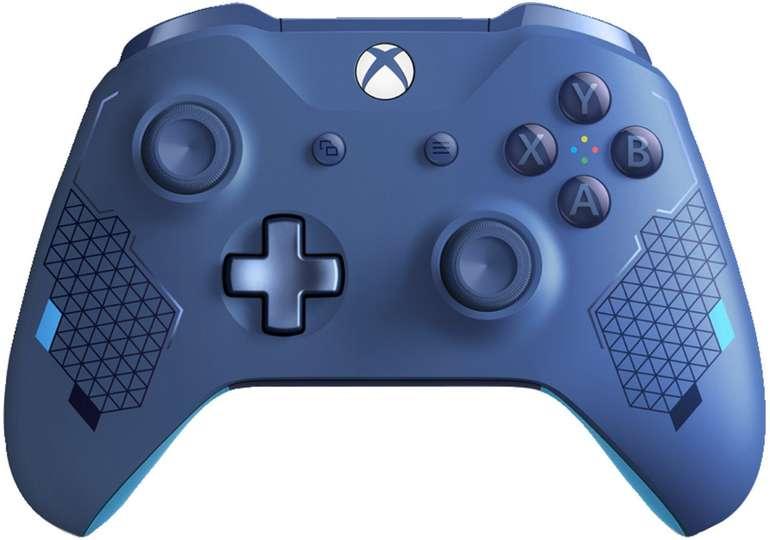 Microsoft Xbox Wireless Controller Sport Blue Special Edition für 45,94€ (statt 54€)