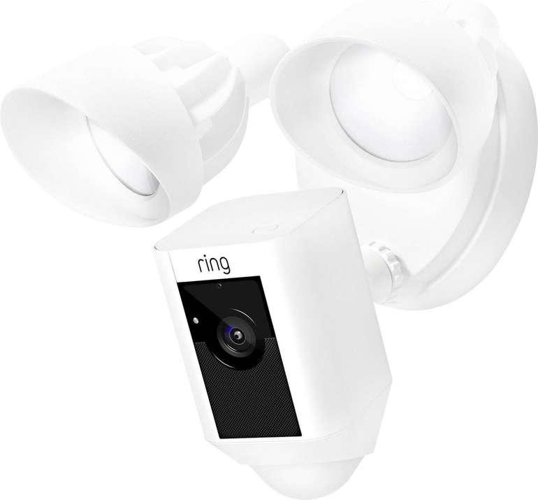 Ring Floodlight Cam - WLAN IP HD-Kamera mit Flutlicht in Weiß für 169,99€ inkl. Versand