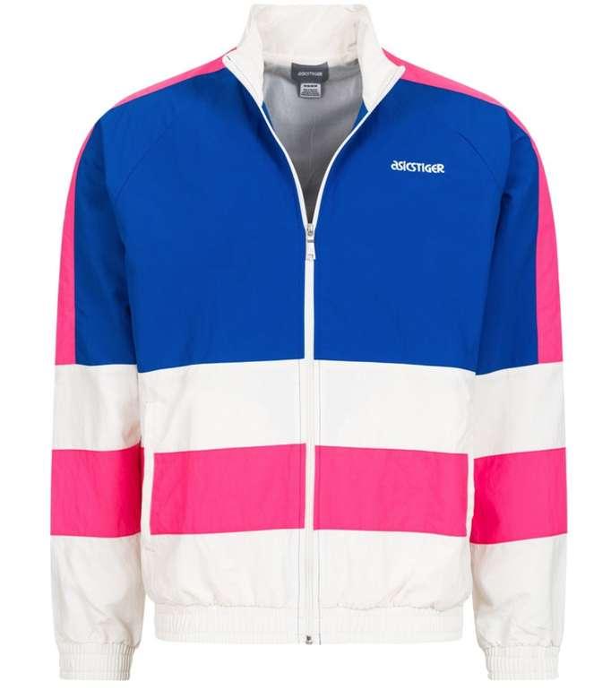 SportSpar Randgrößen Sale mit bis zu 66% Rabatt - z.B. Asics CB WB Colorblock Windbreaker Jacke für 12,92€