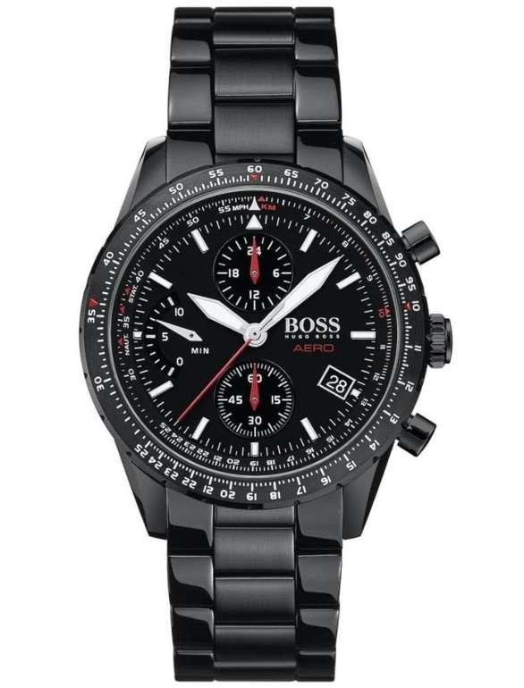 Hugo Boss Chronograph aus schwarz beschichtetem Edelstahl (58082963) für 179€ inkl. Versand (statt 199€)