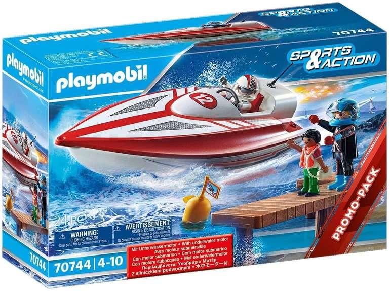 Playmobil Speedboot mit Unterwassermotor (70744) für 15,62€ inkl. Versand (statt 20€)