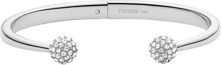 Fossil Damen Armreif Silver-Tone Stainless Steel Bracelet für 23,60€ inkl. Versand (statt 59€)