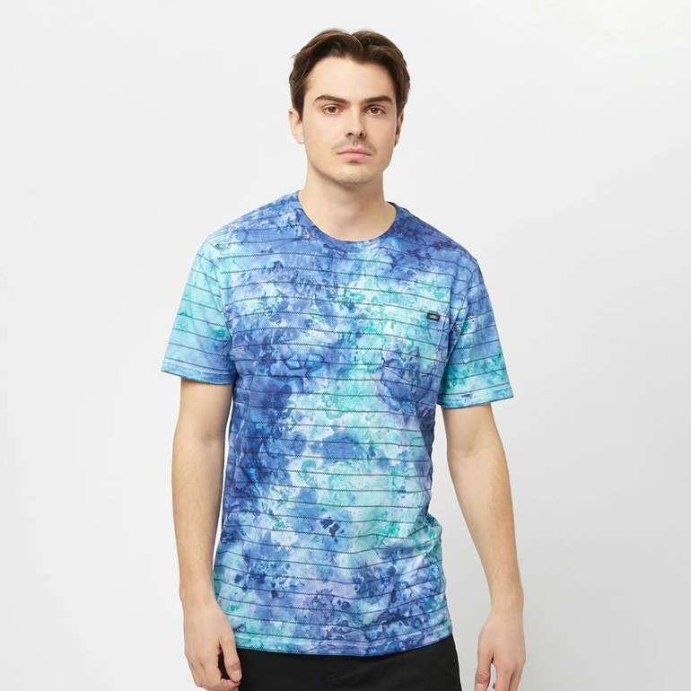 Vans Tie Dye Checkerstripe II Herren T-Shirt für 27,99€ inkl. Versand (statt 35€)