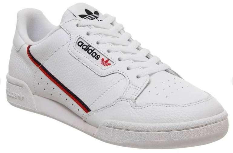 Adidas 80s Continental Trainers Sneaker in weiß für 60,90€ (statt 68€)