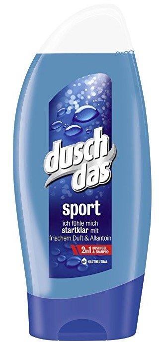 6x 250ml Duschdas For Men Duschgel Sport für 2,90€ mit Amazon Prime!