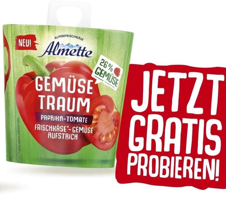 Almette Gemüsetraum gratis testen durch Geld-zurück-Garantie (GzG)