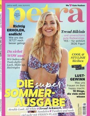 """Jahresabonnement der Zeitschrift """"petra"""" mit 10 Ausgaben für 2,95€"""