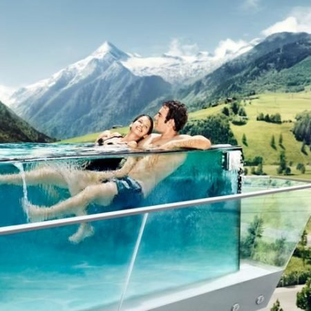 Kaprun: 1 ÜN/F im 4* Hotel Tauern Spa mit gläsernem Syklinepool ab 104€ p.P.