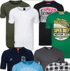 Marken T-Shirts im Sale bei Outlet46 - z.B. Spartans History Shirts 1,99€