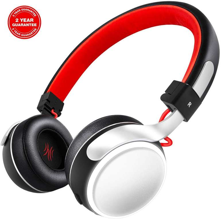 OneAudio kabellose On-Ear-Kopfhörer (LED, Bluetooth) für 7,50€ (Prime)