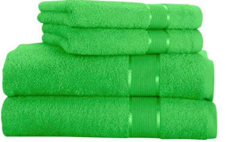 4-tlg. Mixibaby Handtuchset (2x Handtuch 50 x 100cm, 2x Duschtuch 70 x 140cm, 100% Baumwolle) für 15,99€