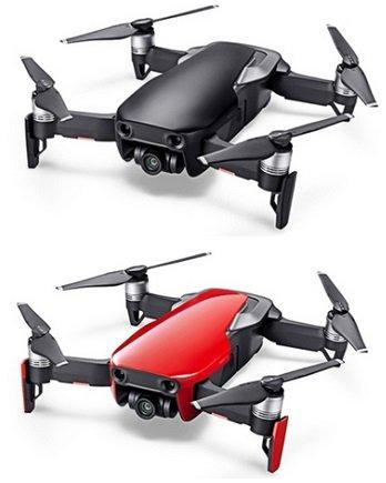 DJI Mavic Air Drohne mit 4K Kamera & FPV 3-Axis Gimbal (faltbar) Rot für 721,05€