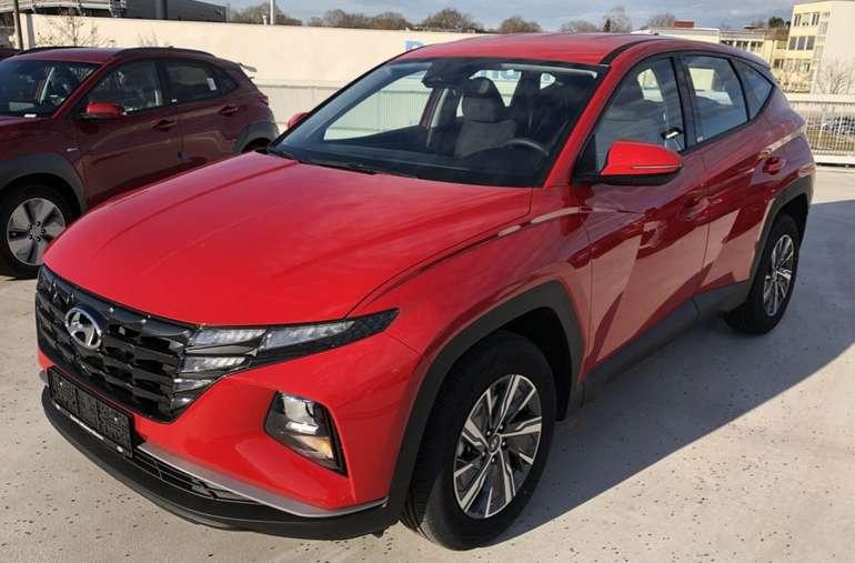 Gewerbeleasing: Hyundai Tucson 1.6 T-GDI Hybrid mit 265 PS für 57,02€netto mtl. (BAFA, LF: 0.16, Überführung: 895€)