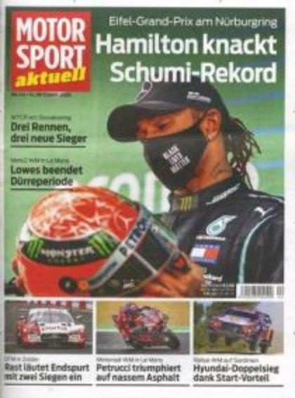 """Halbjahres-Abo """"Motorsport aktuell"""" mit 25 Ausgaben für 70€ + 45€ Best-Choice Gutschein"""