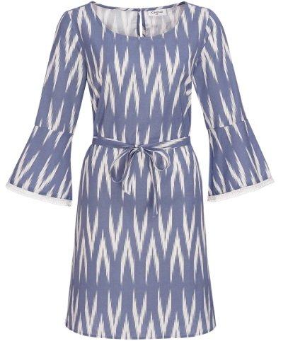 Ernsting's family: only Online Sommer Aktion z.B. Damen Kleid mit Spitze in blau für 22,49€ inkl. Versand (statt 50€)