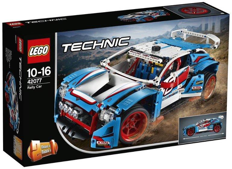 Lego Technic Rallyeauto (42077) für 69,95€ inkl. Versand (statt 75€)