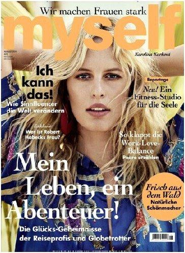 """12 Ausgaben """"Myself"""" für 51,60€ + 45€ Amazon-Gutschein oder Verrechnungsscheck!"""