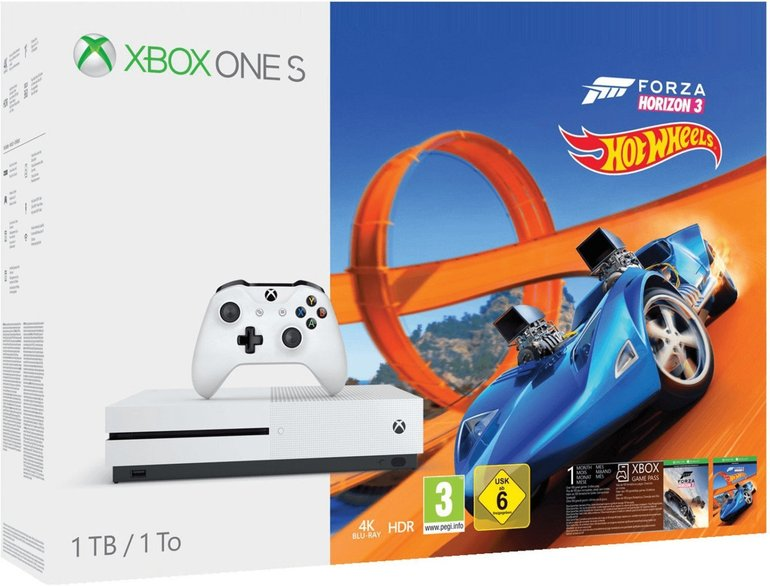 Microsoft Xbox One S 1TB + Forza Horizon 3 Hot Wheels für 199€ + Versand