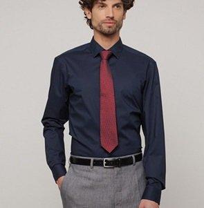 Van Laack Sale mit bis zu 70% Rabatt, z.B. Herren Hemd in Blau für nur 49,99€
