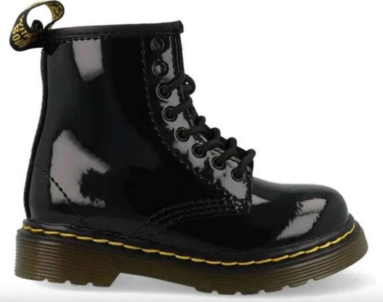 Dr. Martens 1460 T Black Patent Lamper Baby Schuhe für 59,99€ inkl. Versand (statt 85€)