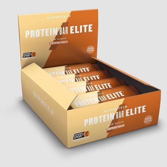 12er Pack Protein Bar Elite (Sahnebonbons Vanille) für 17,48€ inkl. VSK