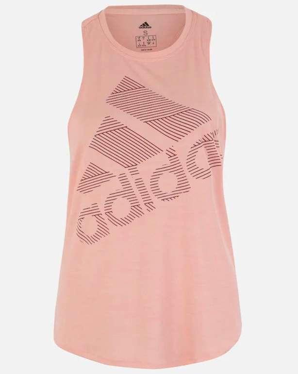 Adidas Performance Damen Badge of Sport Tanktop in rosa für 10,76€ inkl. Versand (statt 20€)
