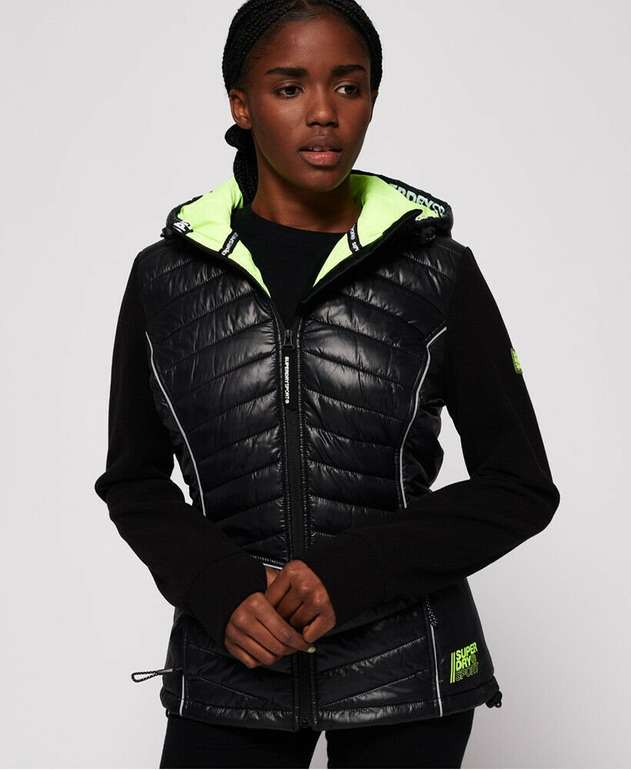 Superdry Damen Jacke 'Storm Sporty Hybrid' (2 Farben) für je 28€ inkl. Versand (statt 64€)