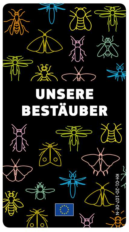 """Gratis Quartett Kartenspiel """"Unsere Bestäuber"""" in vielen Sprachen kostenfrei bestellen!"""