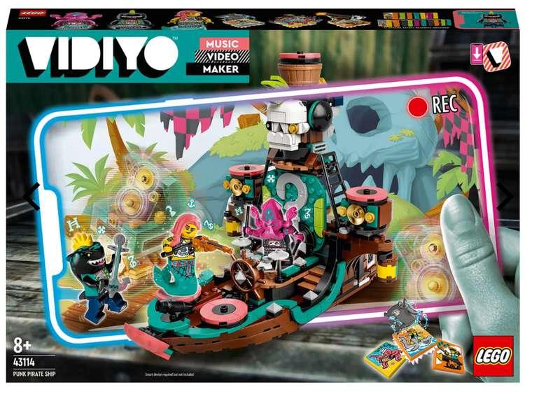 Lego Vidiyo - Punk Pirate Ship (43114) für 41,48€ inkl. Versand (statt 55€)
