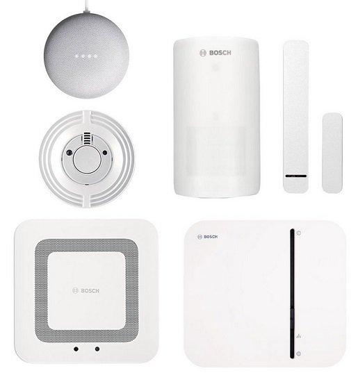 Bosch Smart Home Sicherheit Starter-Set mit App-Funktion für 229,95€ (statt 371€)