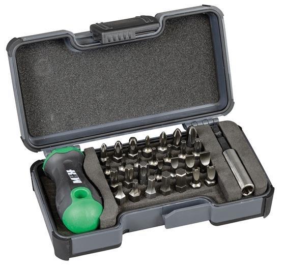 Felo 30-Teilige Bit-Box + Bit-Magnethalter in Strongbox für 9,99€ inkl. Versand (statt 32€)