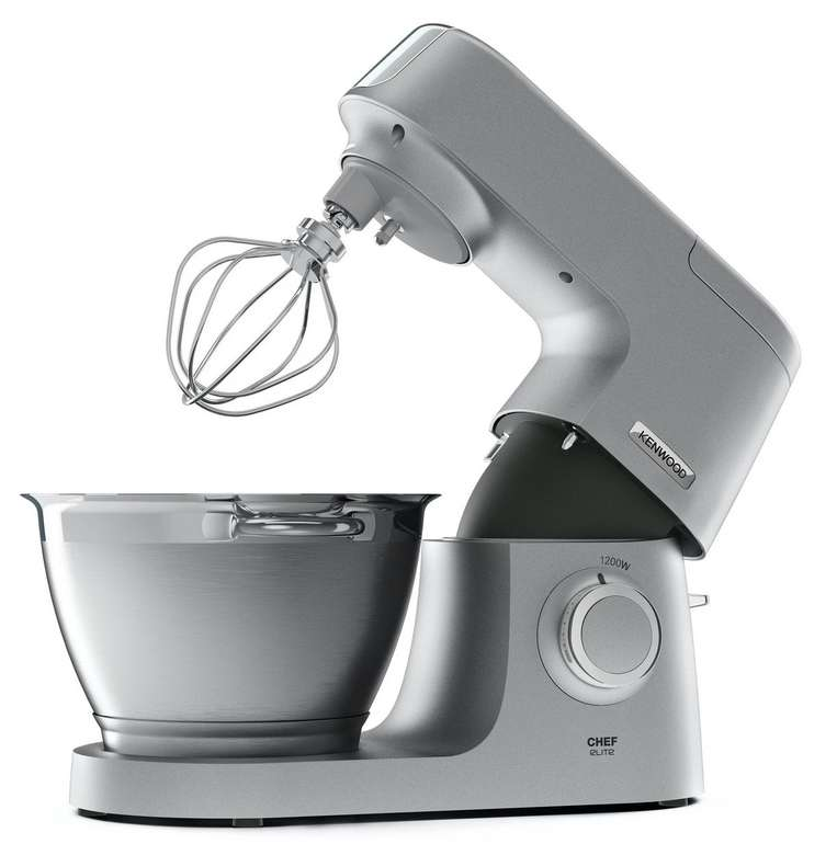 Kenwood Küchenmaschine Chef Elite KVC5391S inkl. 6 Zubehörteile (4.6 Liter, 1200W) für 361,68€ inkl. Versand