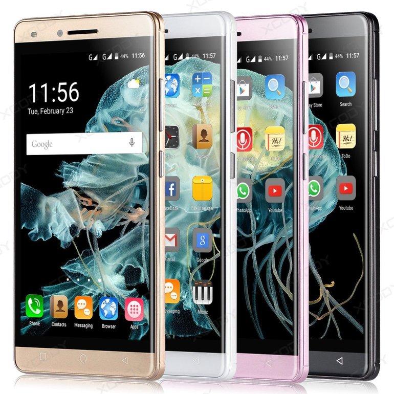 Xgody X11 - 5 Zoll China Smartphone (Dual-SIM, 8GB, Quad Core) ab 52,89€