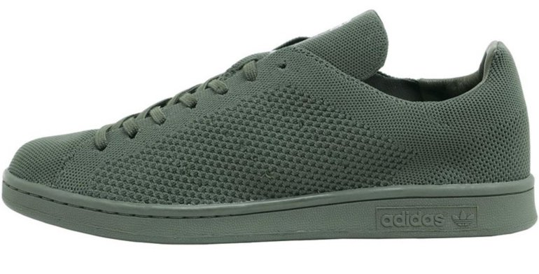 adidas Stan Smith Primeknit Sneakers in Khaki für 51,44€…