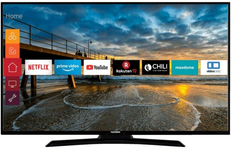 "Telefunken 49 U 4000 - 49"" UHD 4K TV LED TV für 299€ inkl. Versand"