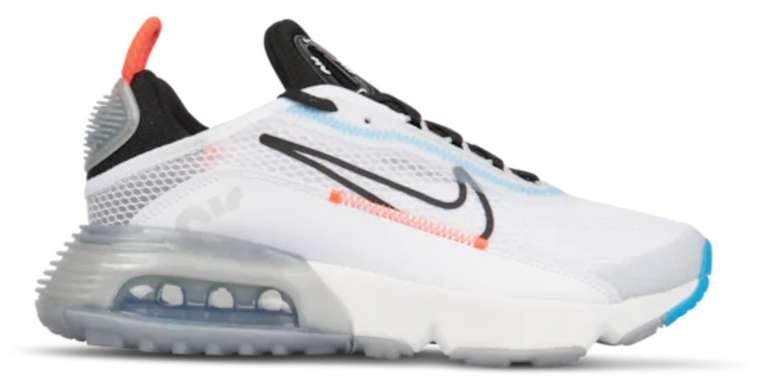 """Nike Air Max 2090 Grundschule Sneaker im """"White/Blue Hero""""-Colourway für 59,99€ (statt 80€)"""