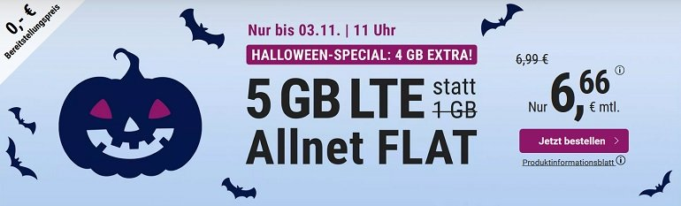 simplyTel Tarif mit 5GB LTE