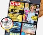 """2 Monate die Readly """"Magazin Flatrate"""" kostenlos testen (3-5 Monat nur 8,99€, danach 9,99€ mtl.)"""