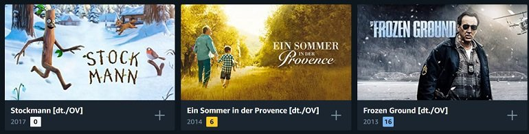 Amazon Leihfilme Rabatt 2