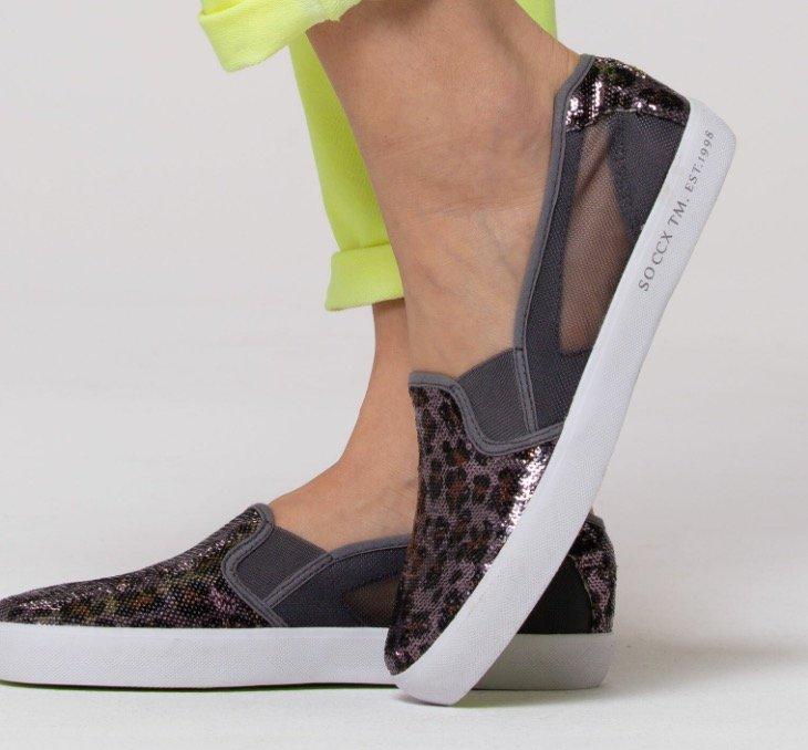 Camp David & Soccx mit 50% Rabatt auf Alles - z.B. Damen Sneaker im Ballerina Stil für 19,98€ (statt 40€)