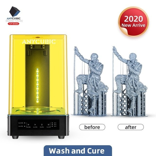 Anycubic Wash & Cure Maschine für 3D-Drucke für 85,92€ (statt 112€)
