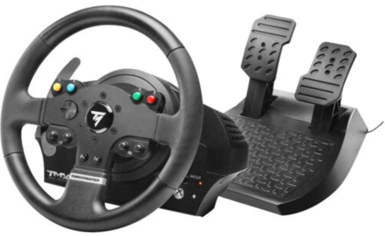 Thrustmaster TMX Force Feedback Lenkrad inkl. 2-Pedalset (Xbox One & PC) für 129,71€ (statt 150€)