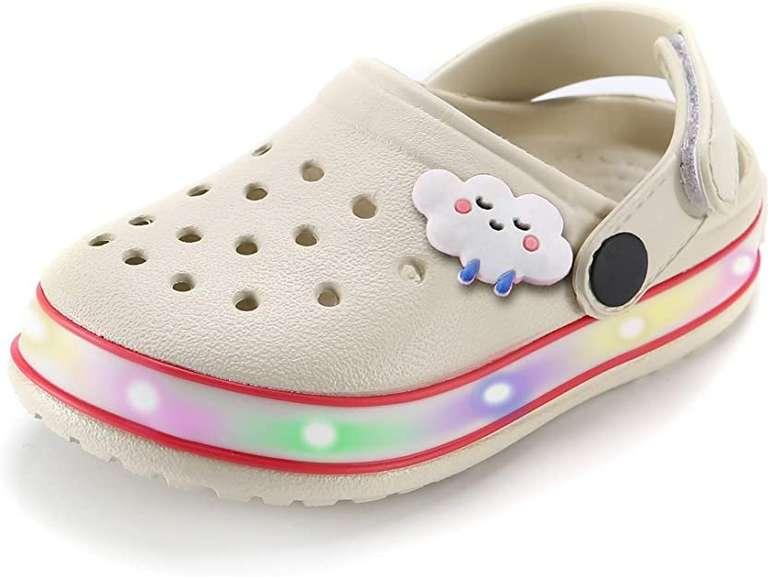 Viyear Kinder LED Clogs in 10 Farben ab 12,59€ inkl. Prime Versand (statt 18€)